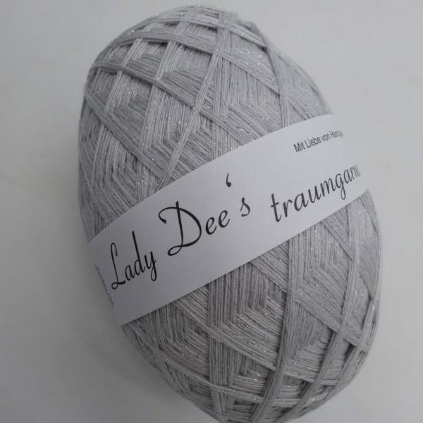 Lady Dee's ZauberEi Exquisit mit Glitzer - 200g - 4fädig