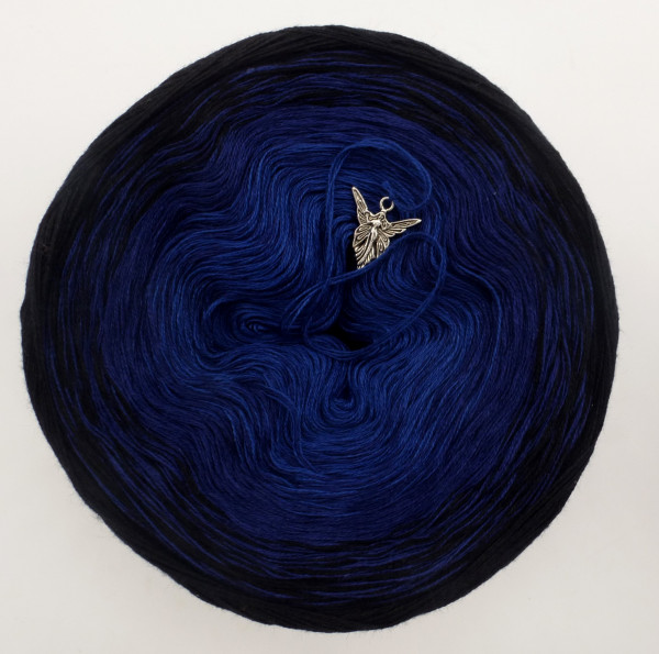 Blue Darkness - Grösse nach Wahl - Schwarz außen