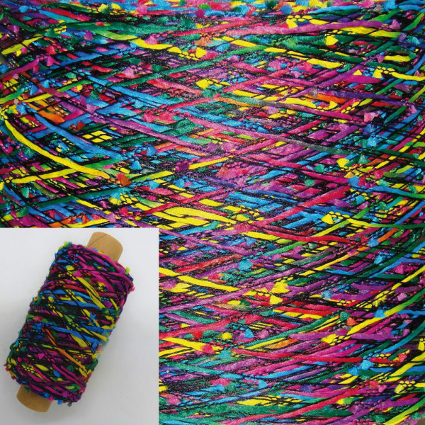 Effekt Beilaufgarn Multicolore - 200m