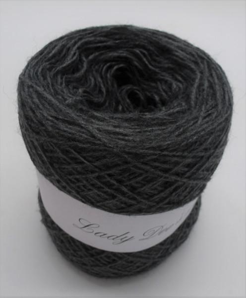 Woll-Acryl-Gemisch - Mittelgrau - 50g - 450m