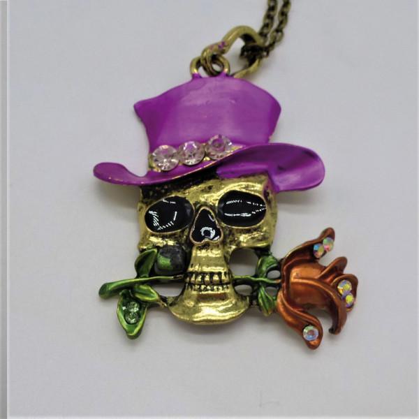 Lady Dee's Totenkopf Gothic Skull Kette