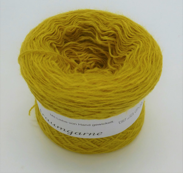 Woll-Acryl-Gemisch - Kurkuma - 50g - 450m