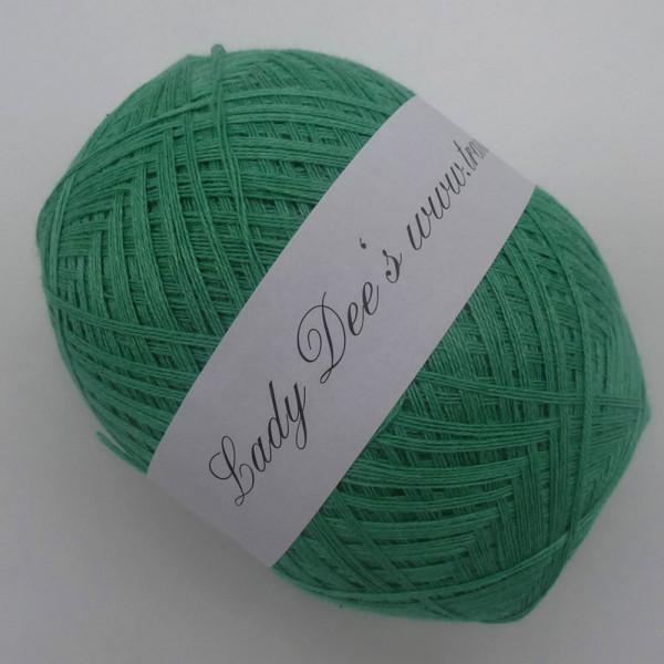 Lace Garn - Grün Meliert -