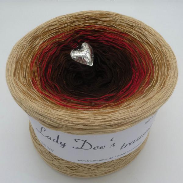 Lady Dee's Farbklecks in Rot