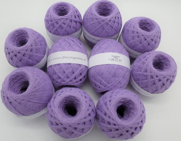 1kg Hochbausch - 10 Knäule Lavendel - 3500m