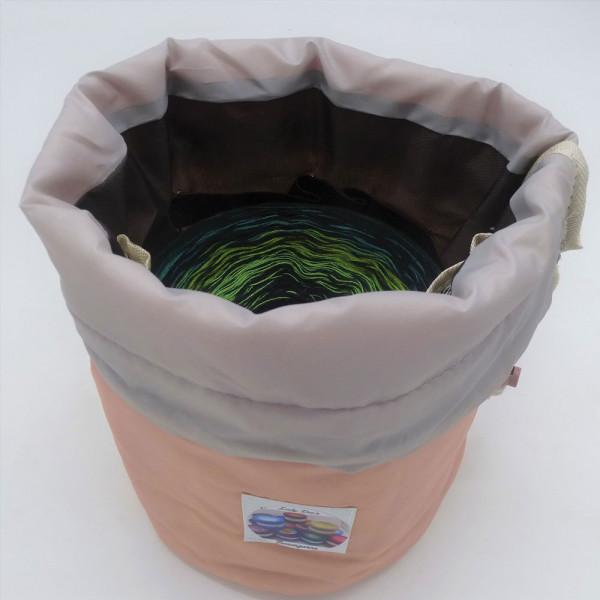 Utensilo - Bobbel Bag für Bobbel bis 250g - Lachs