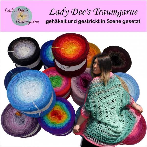 Lady Dee's Broschüre mit 11 Anleitungen (stricken und häkeln)