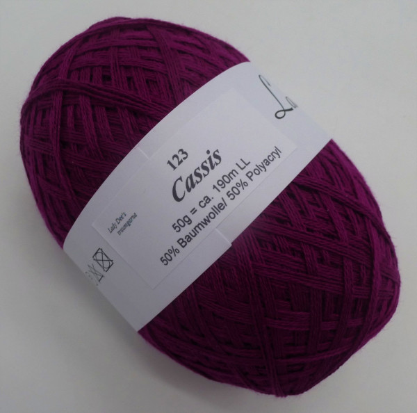 Lace Garn - Cassis - (123)