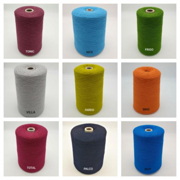 (50%Wolle-Merino/50%Poyacryl) 4-fädig - Wunschwicklung mit Farbverlauf