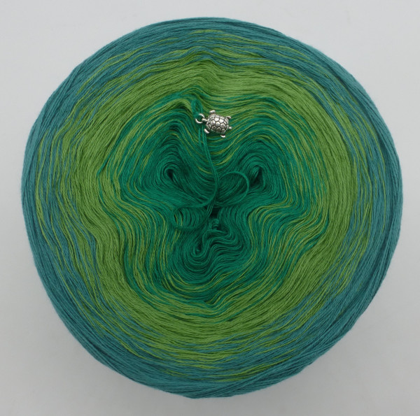 Froschkönig - Grösse nach Wahl - Oceangrün außen