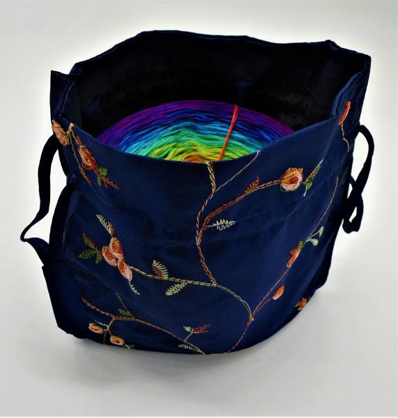 Bobbel Bag für Bobbel bis 250g - Royalblau