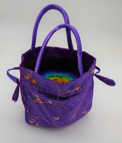 Bobbel Bag für Bobbel bis 250g - Violett