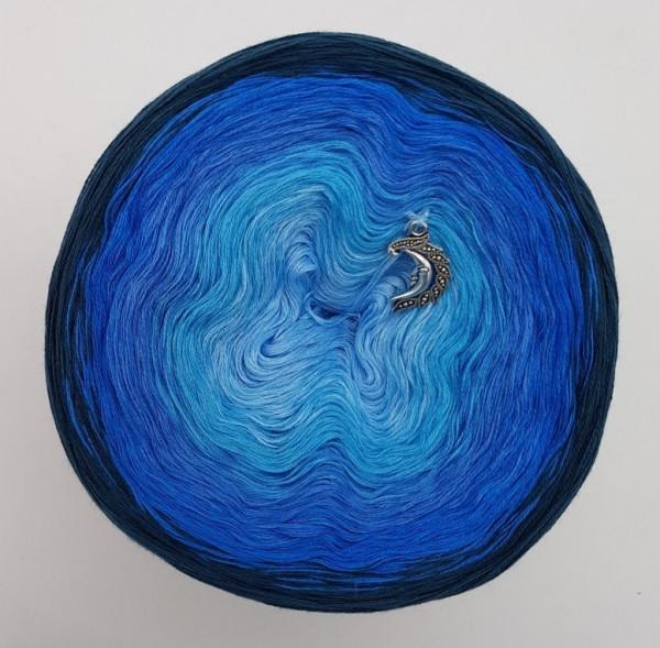 Oase in Blau