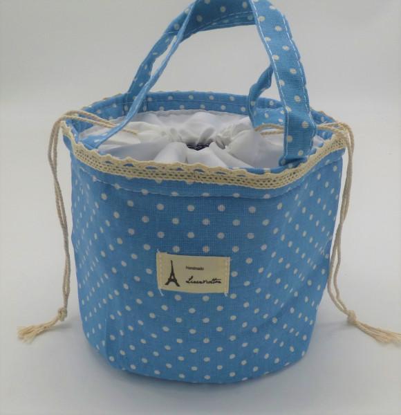Utensilo - Bobbel Bag zum Zuschnüren - Himmelblau