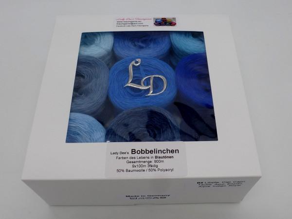Farben des Lebens (4fädig-900m) - Blautöne