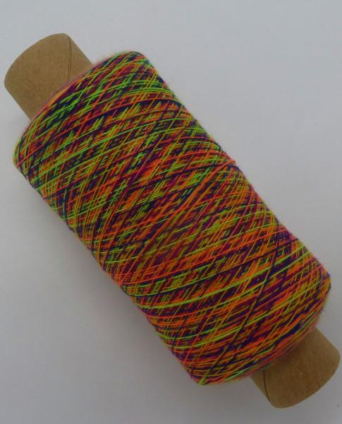 Zartes Regenbogen Beilaufgarn Multicolore 5- 2000m