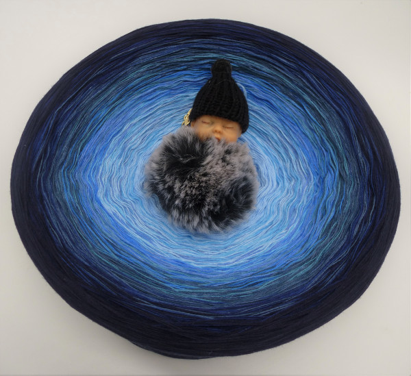 Gigantischer Bobbel - Blue Wonder - über 1kg