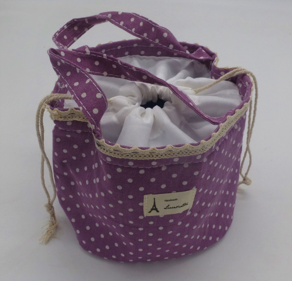 Utensilo - Bobbel Bag zum Zuschnüren - Lavendel