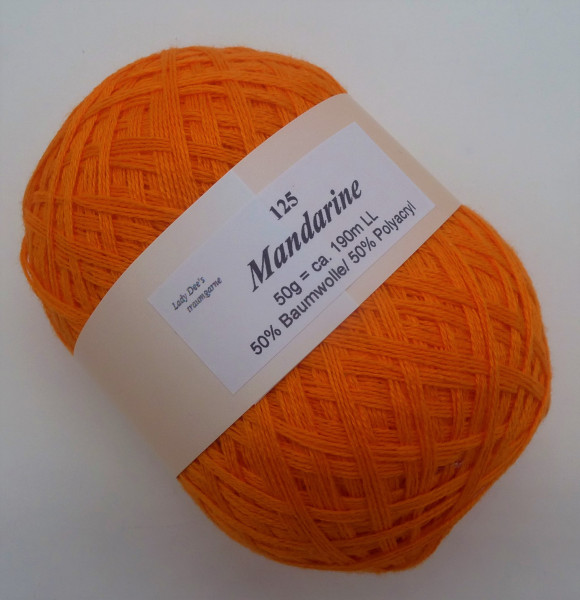 Lace Garn - Mandarine - (125)