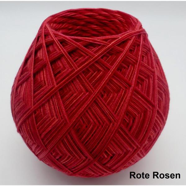 Lady Dee's ZauberEi - Rote Rosen - 200g - 4fädig