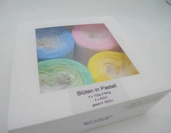 Blüten in Pastell - 4 Bobbelinis